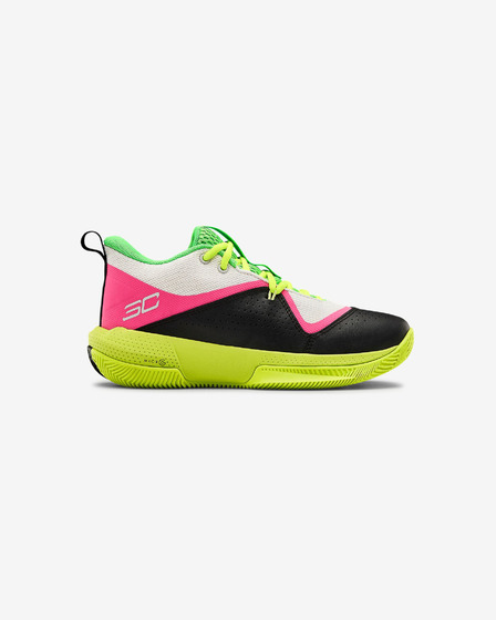 Under Armour Grade School UA SC 3ZER0 IV Basketball Kinder Tennisschuhe