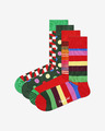 Happy Socks Classic Holiday Socks 4 pairs