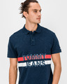 Tommy Jeans Block Stripe Polo T-Shirt