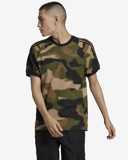 adidas Originals Camo 3-Stripes T-Shirt