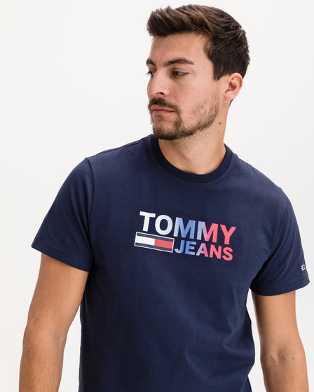 Tommy Jeans Color Corporation Logo T-Shirt