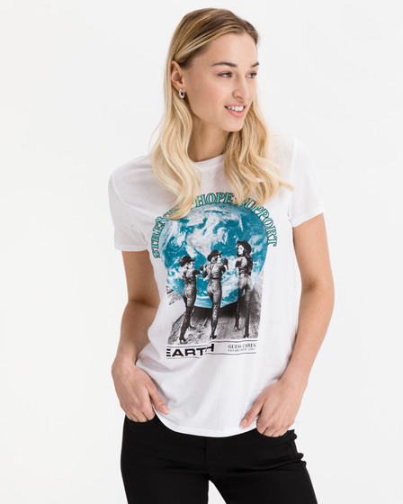 Guess Support The Earth T-Shirt