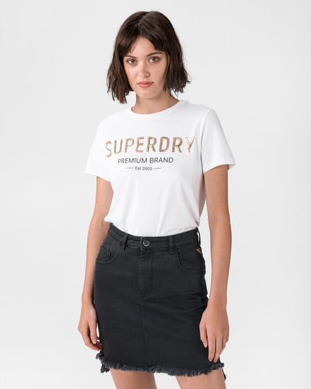 SuperDry Premium Sequin T-Shirt