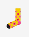 Happy Socks Smile Flower Socken