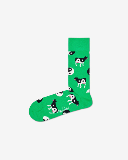 Happy Socks Ying Yang Cow Socken